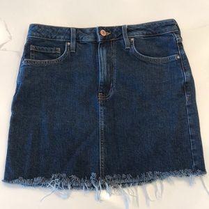 Dark wash Forever 21 skirt
